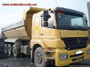 Mercedes Axor 3228 Hardox Cerli 3228 K�rkayak Kamyon