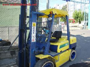 3 Tonluk Komatsu Marka Dizel Forklift Sat�l�kt�r