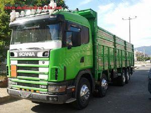 Sahibinden 2004 Model Scania K�rkayak Kamyon, Scania 360 Retarderli