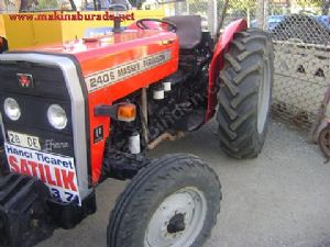 2001 Model Massey Ferguson 240 Efsane Trakt�r