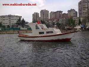 �ok Acil Sahibinden 7 Metrelik Ah�ap Tekne
