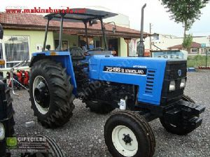 S�f�r Ayar�nda 2008 Model New Holland 75-56 S - foto 1
