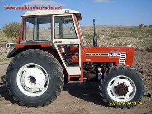 satılık Çift Çeker 7056 fiat traktör