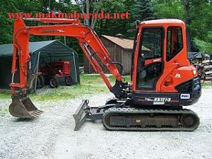 SATILIK KUBOTA KX 121 MİNİ EKSKAVATÖR 2012 MODEL - foto 1