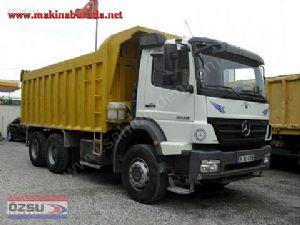 2008 model mercedes axor 3028 damperli kamyon 90.000 kmde